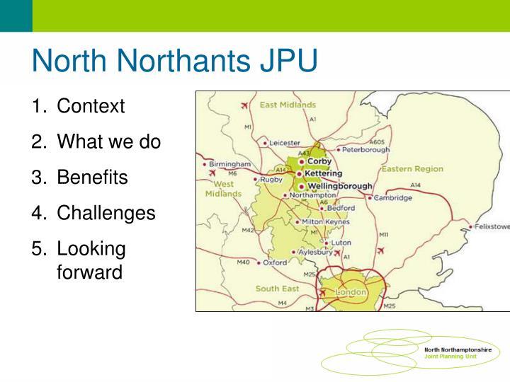 North Northants JPU