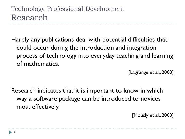 Technology Professional Development