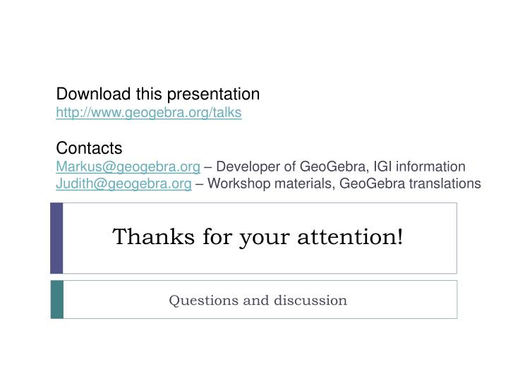 Download this presentation
