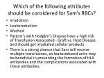 which of the following attributes should be considered for sam s rbcs