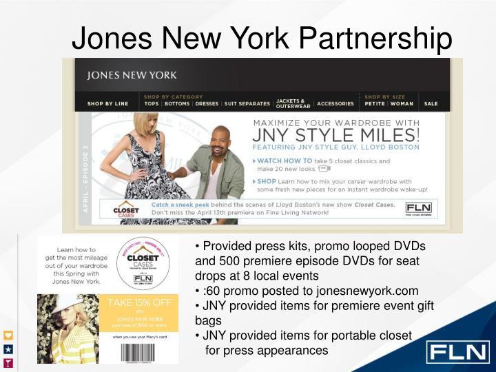 Jones New York Partnership