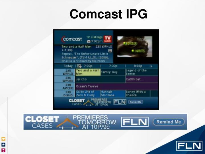 Comcast IPG