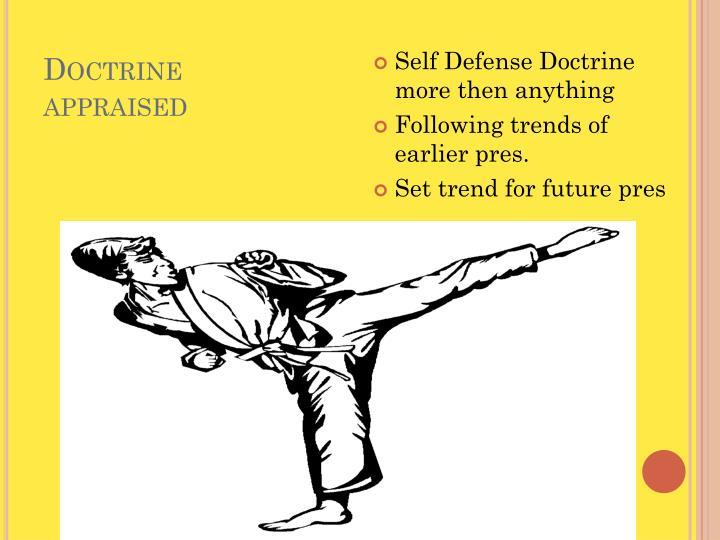 Doctrine appraised