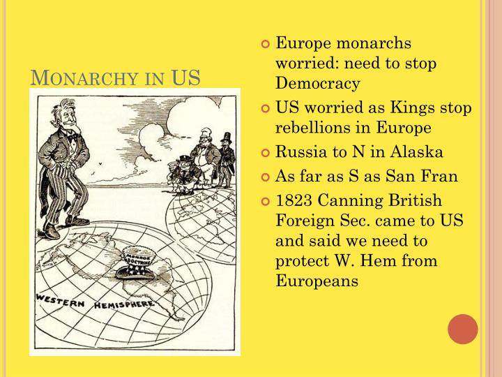 Monarchy in US