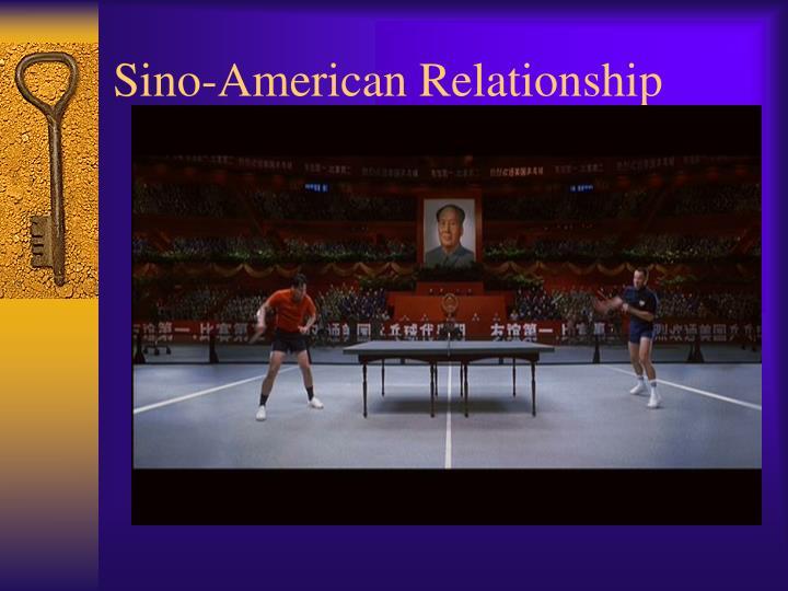 Sino-American Relationship