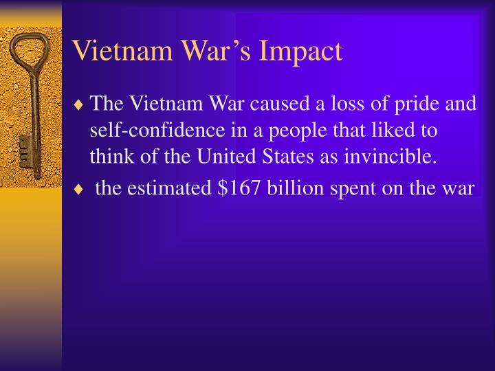 Vietnam War's Impact