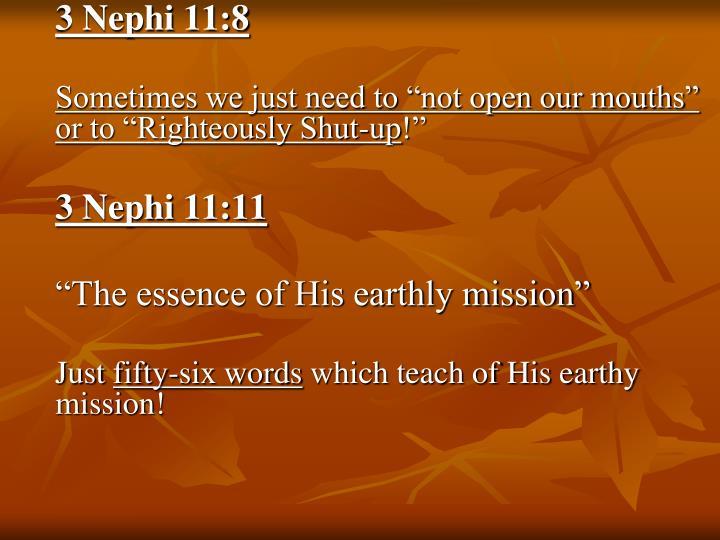 3 Nephi 11:8