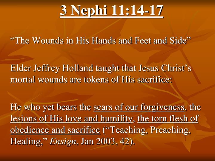 3 Nephi 11:14-17
