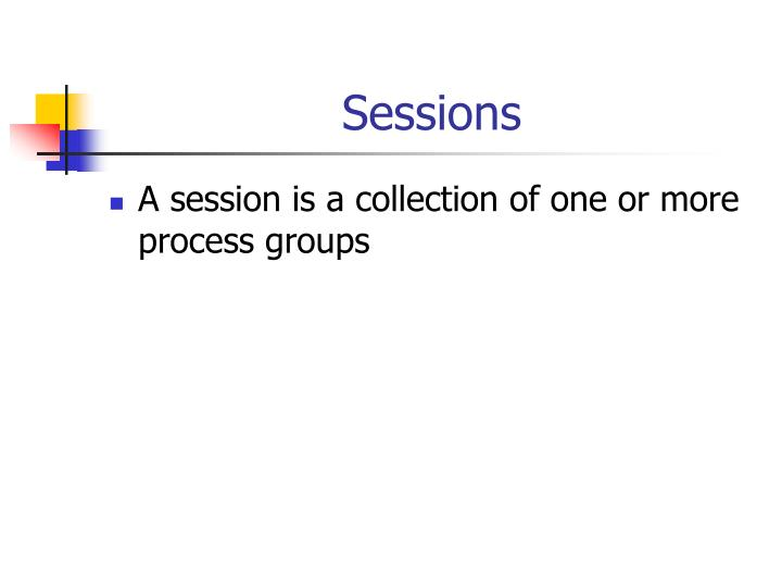 Sessions