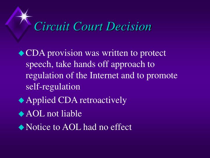 Circuit Court Decision