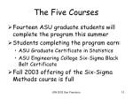 the five courses4