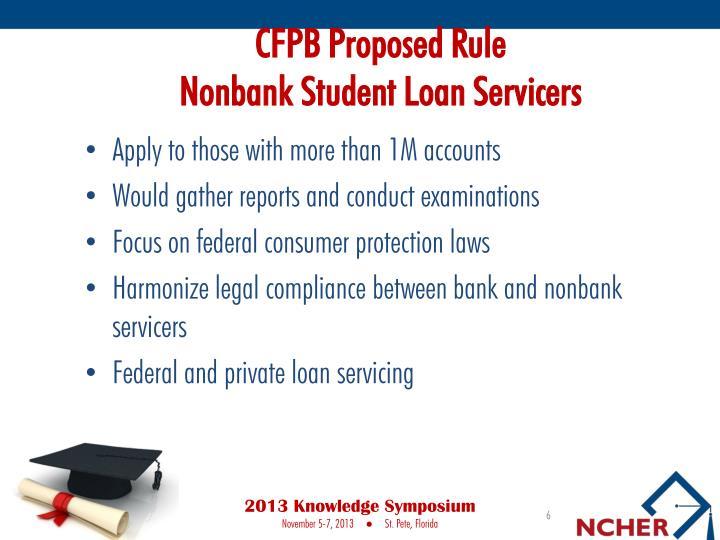 CFPB Proposed Rule