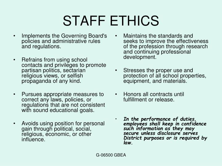 Implements the Governing Board's policies and administrative rules and regulations.