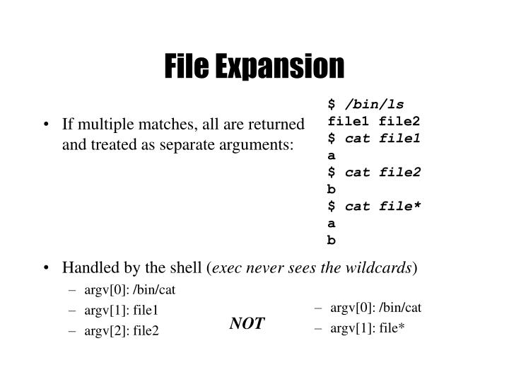 File Expansion