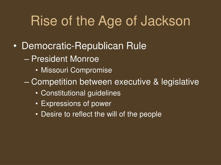 Rise of the Age of Jackson