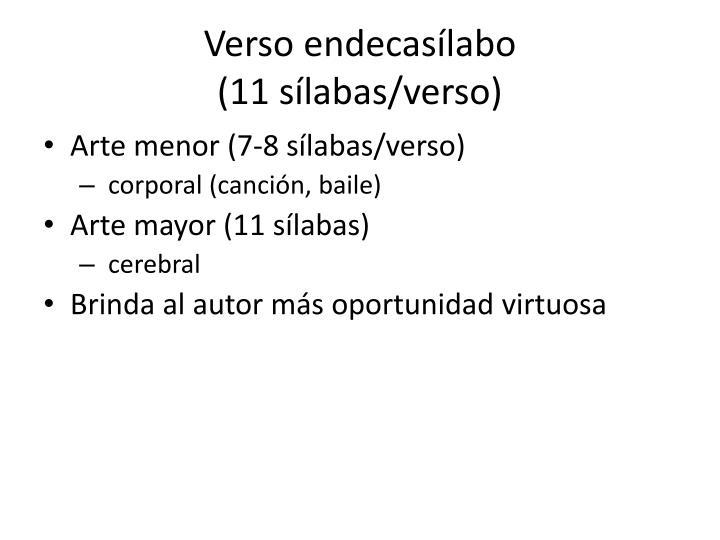 Verso endecasílabo