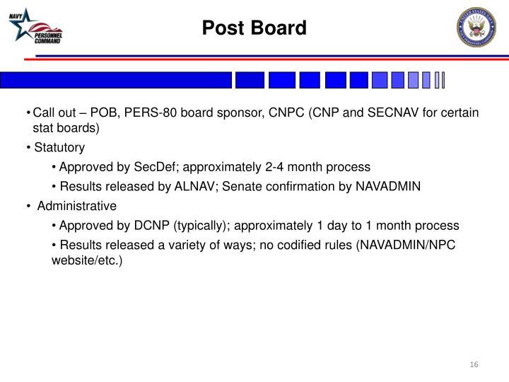 Post Board