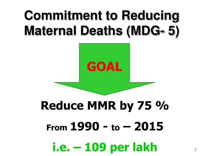 Commitment to Reducing
