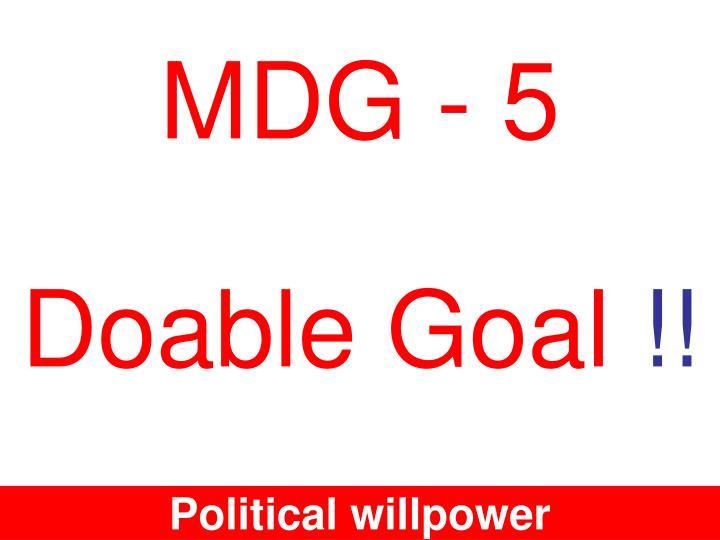 Doable Goal