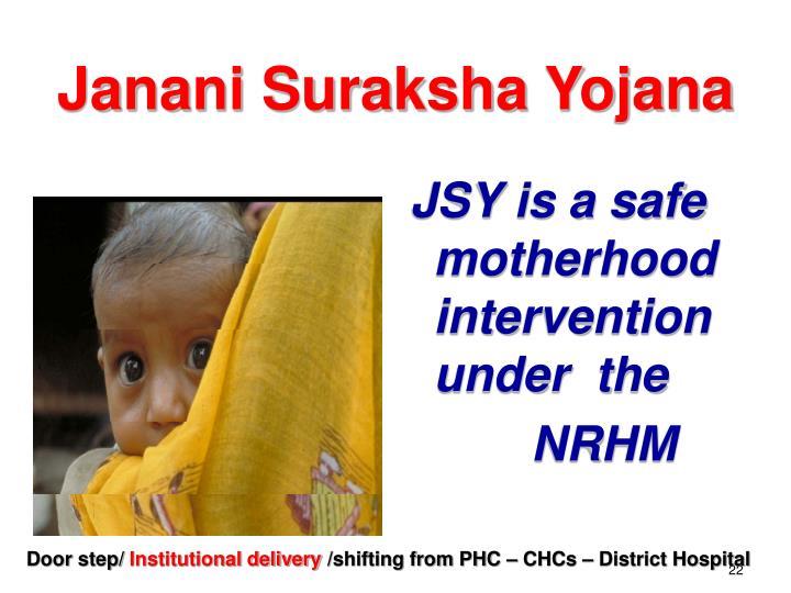 Janani Suraksha Yojana