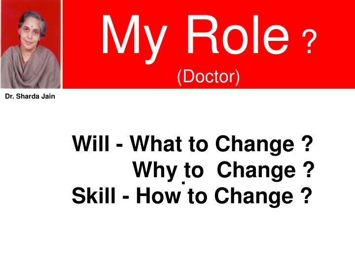 My Role