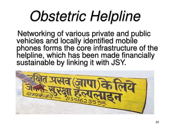 Obstetric Helpline