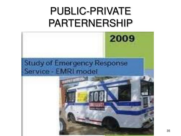 PUBLIC-PRIVATE PARTERNERSHIP