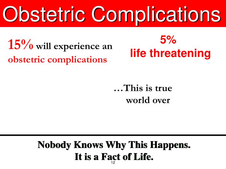 Obstetric Complications