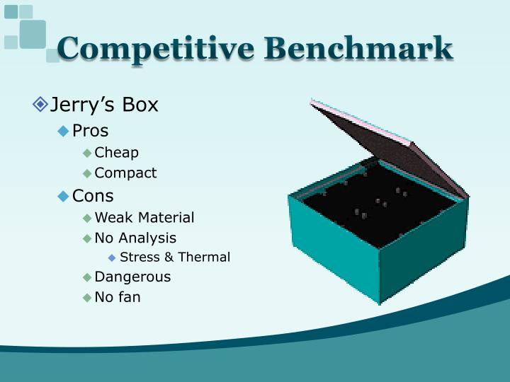 Competitive Benchmark