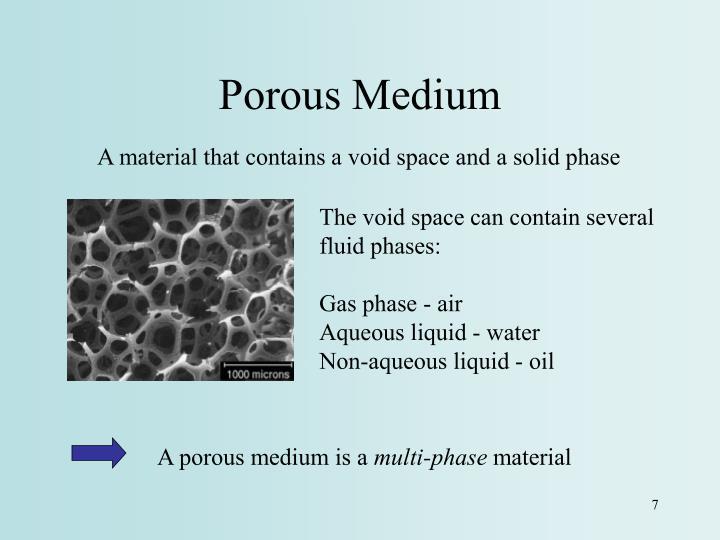 Porous Medium