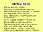 climate killers