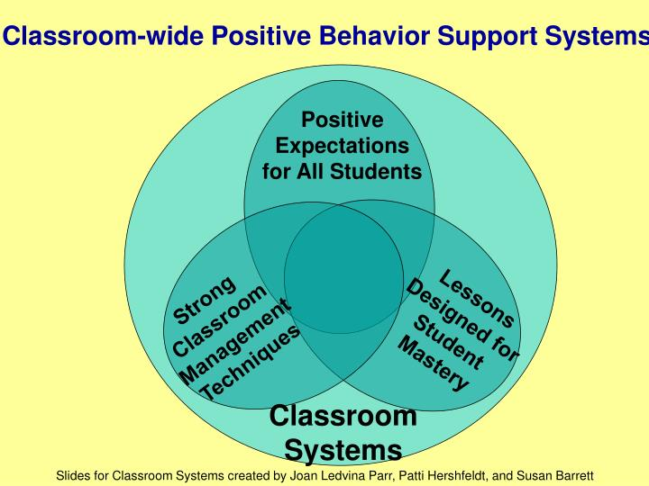 Classroom-wide Positive Behavior Support Systems