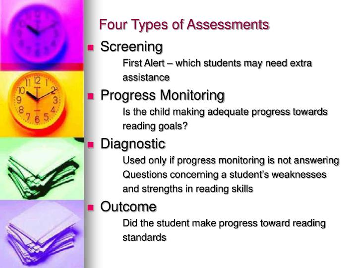 Four Types of Assessments