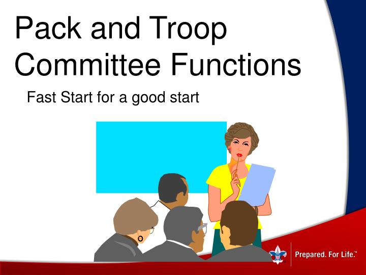 Pack and Troop Committee Functions
