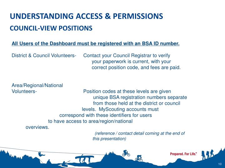 UNDERSTANDING ACCESS & PERMISSIONS