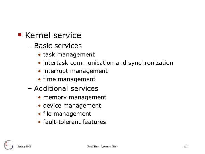 Kernel service