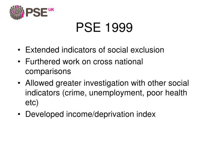 PSE 1999