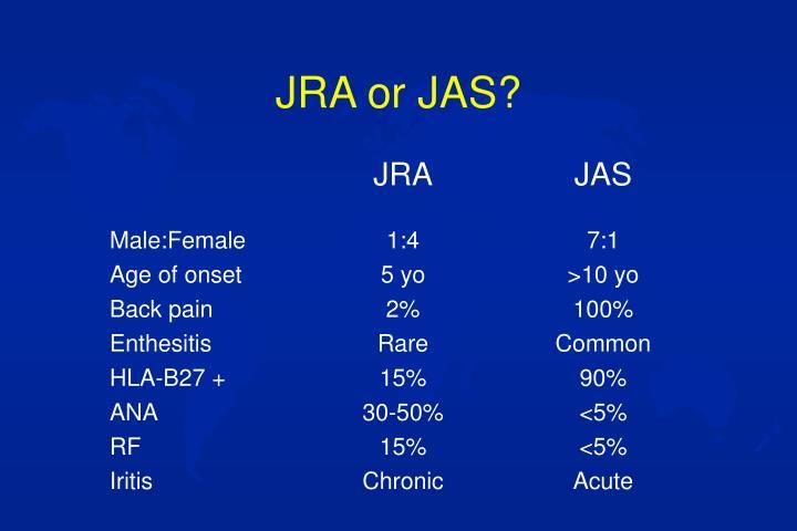 JRA or JAS?