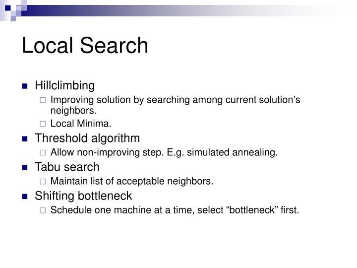 Local Search