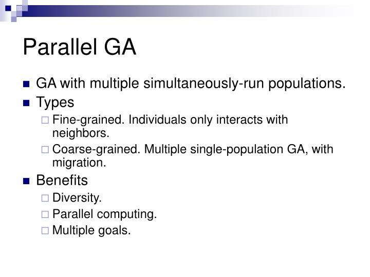 Parallel GA