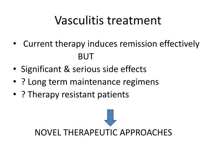 Vasculitis treatment