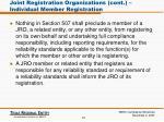 joint registration organizations cont individual member registration