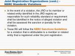 joint registration organizations cont nerc standards violations