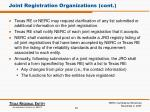 joint registration organizations cont