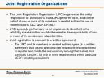 joint registration organizations