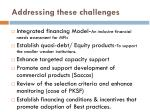 addressing these challenges