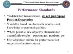 performance standards1