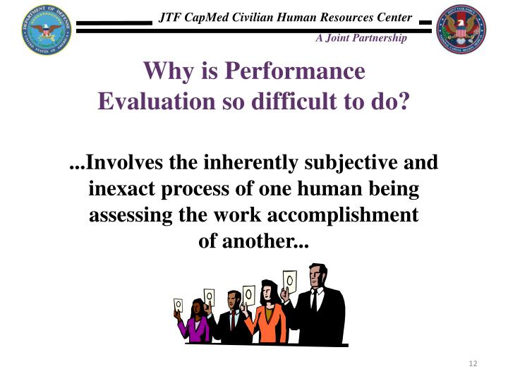 Why is Performance