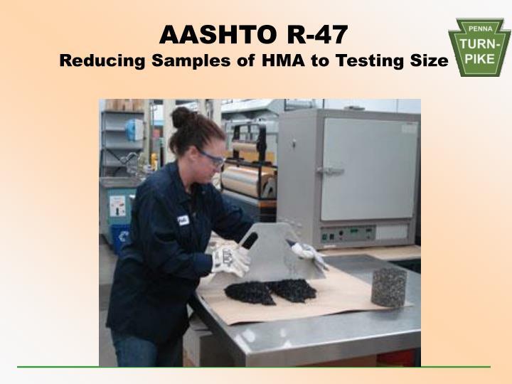 AASHTO R-47