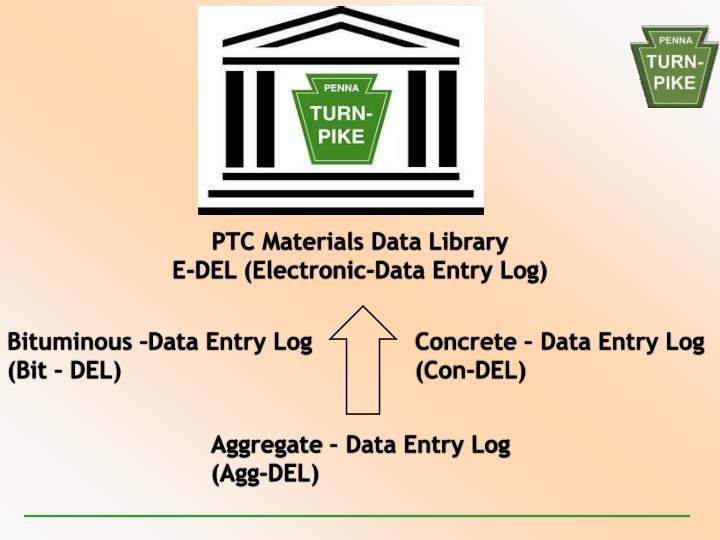 PTC Materials Data Library
